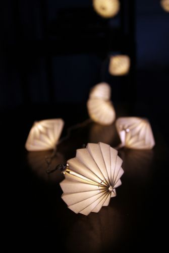 Lanterns Origami Lampe Origami Guirlande
