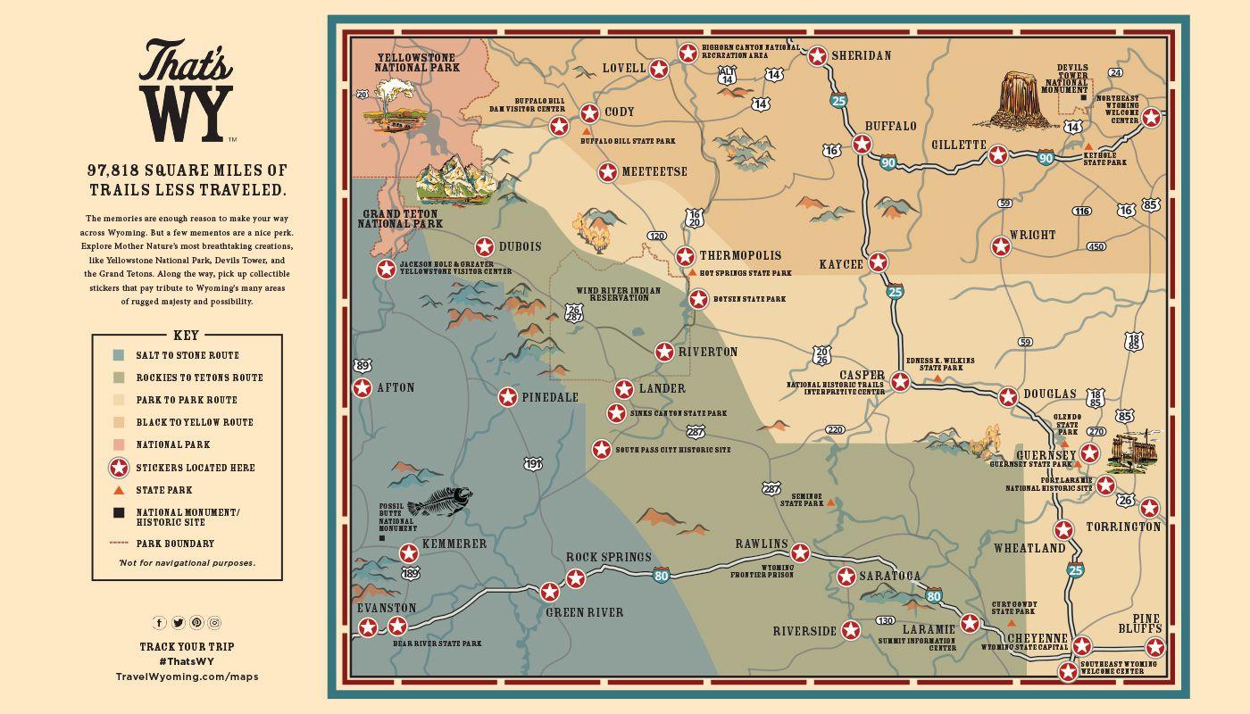 map of rock springs wyoming Pin On Black To Yellow Wyoming Road Trip map of rock springs wyoming
