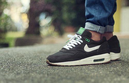 ca9f5202444 Nike Air Max 1 x Patta - Black Lucky Green