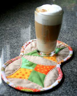 Mug Rug Latte Macciato