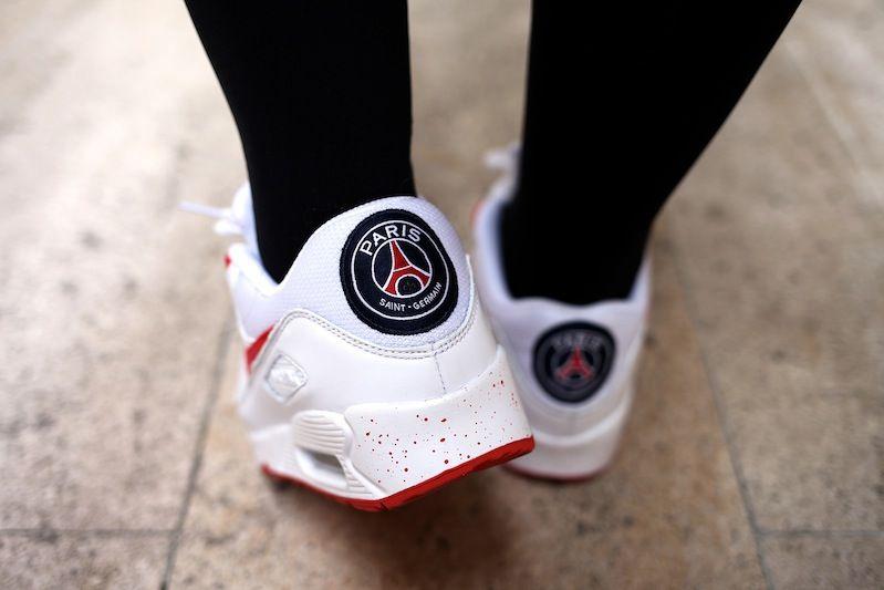 sneakers nike air max 90 PSG | Nike free shoes, Adidas shoes ...