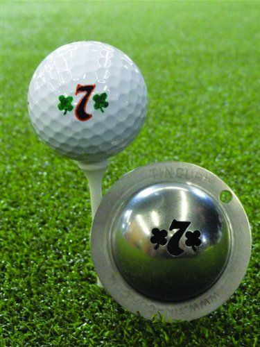 Tin Cup Lucky 7 Golf Ball Marking Stencil Steel By Tin Cup 19 95 Made In The Usa The Perfect Golf Ball Marking So Golf Ball Ball Markers Golf Ball Markers