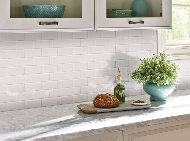 Domino White Glossy Is A Smaller Sized 2x4 White Subway Tile Made With  Durable Porcelain