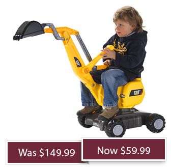 Shop Smarter Ride on toys, Digger, Toys