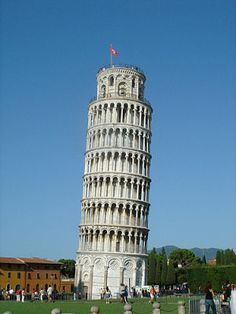 Ancient Rome Leaning Tower Of Pisa