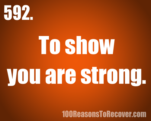 100 reasons to recover from eating disorders