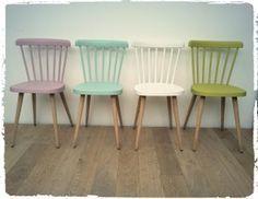 chaises bistrot vintage revisit es chaises pinterest chaise bistrot chaises et relooking. Black Bedroom Furniture Sets. Home Design Ideas