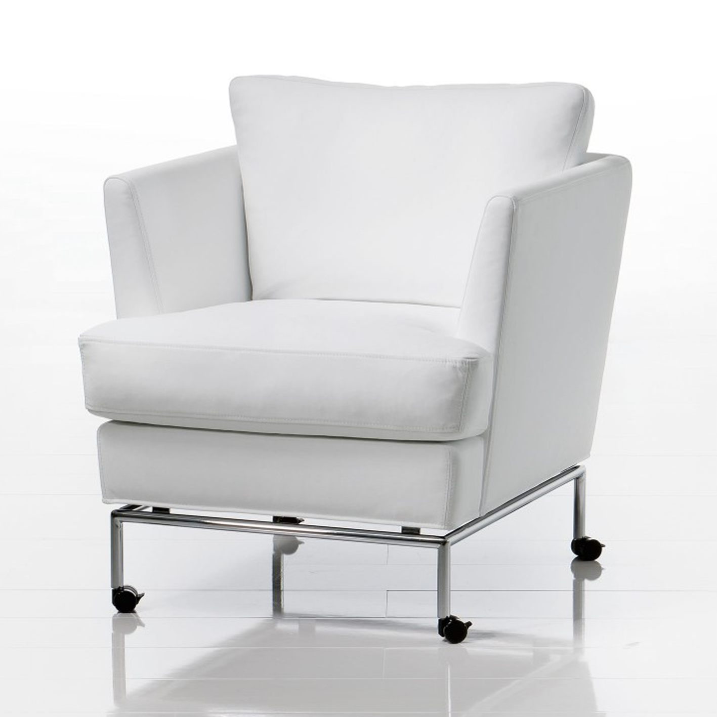 Carousel Von Bruhl Mit Lose Aufliegenden Sitzkissen Ist Eine Leger Moderne Anpass Ungsfahige Und Komfortable Linie Eine Sessel Mit Hocker Sofa Sessel Sessel