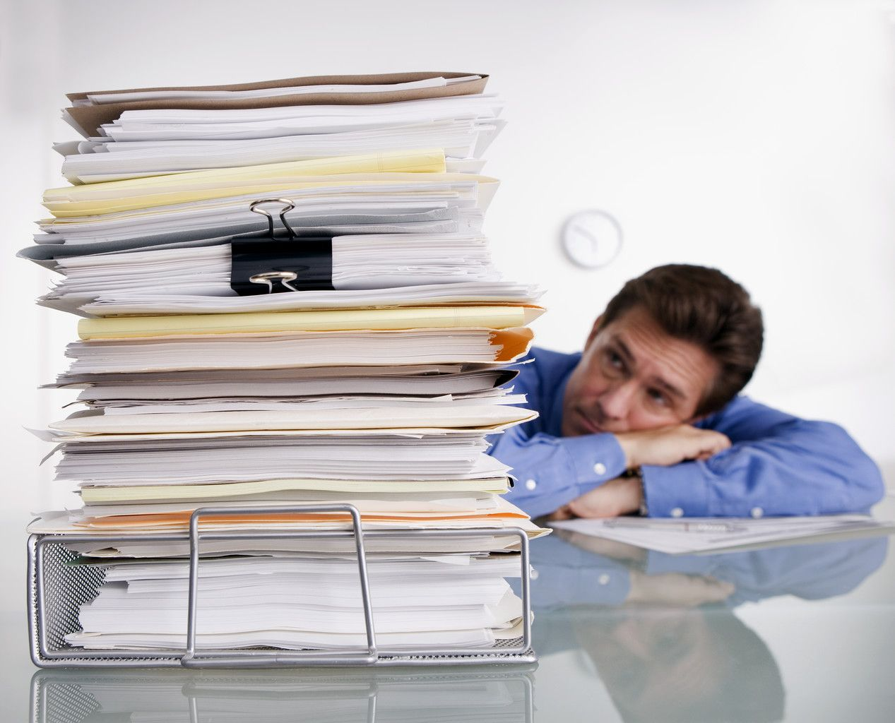 Paperwork got you down?  A professional organizer can help!