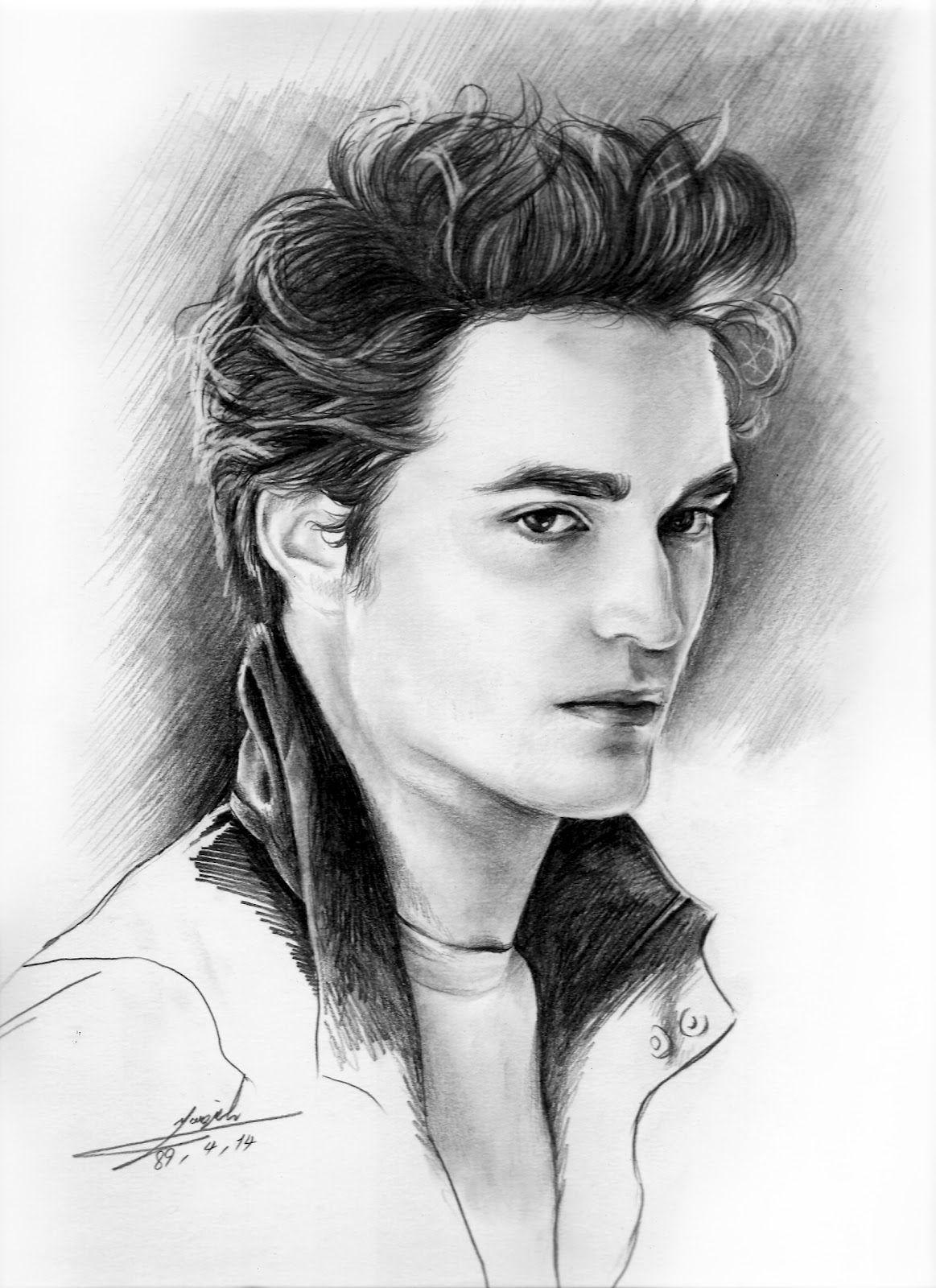 Fotos Y Dibujo De Robert Pattinson Dibujos Unicos Dibujos De