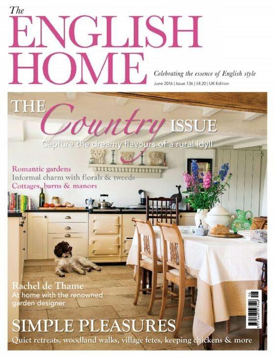 The English Home Magazine Single Issue English House House Home Magazine English Store
