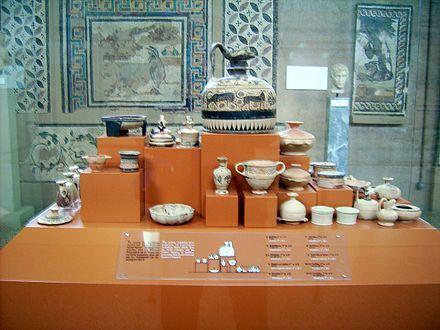 Tipología de vasos griegos - eAnswers