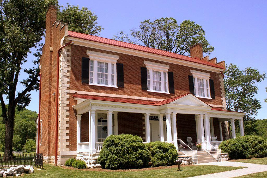Ravenswood Mansion Brentwood, TN Mansions, Federal