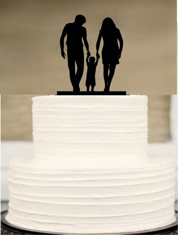 Silhouette Wedding Cake Topper Funny Wedding By Customorderhouse