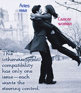 Are Cancer Woman And Aries Man Compatible