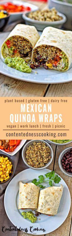 Mexican Quinoa Wraps Quinoa Wraps |