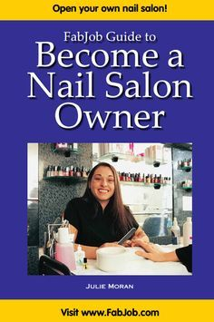 Become a Nail Salon Owner | Salons | Nail salon decor, Home nail ...