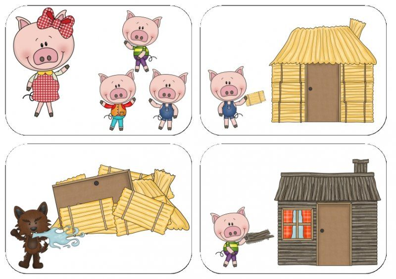 the three little pigs sequencing cards fairy tales pinterest the o 39 jays cards and chang 39 e 3. Black Bedroom Furniture Sets. Home Design Ideas