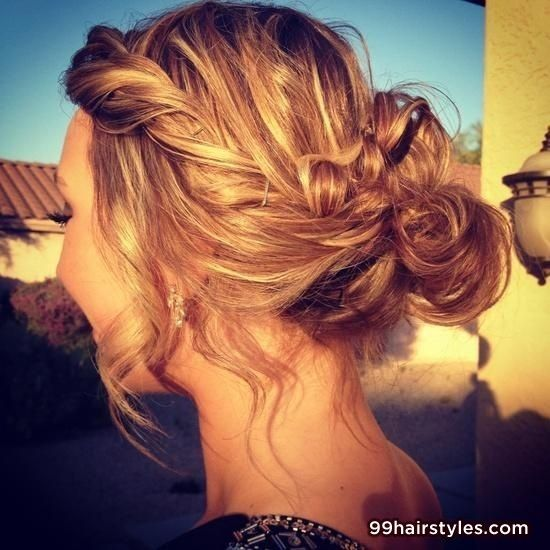 loose bun hair styles best 25 hairstyles ideas on 8028 | 3aef25e04ebdb0debee8a4e8e50c6e7b