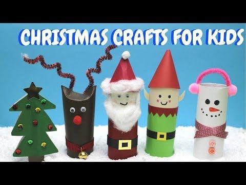 2 Christmas Crafts For Kids