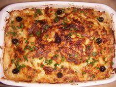 Cozinha com Graça: bacalhau gratinado com batata palha e bechamel