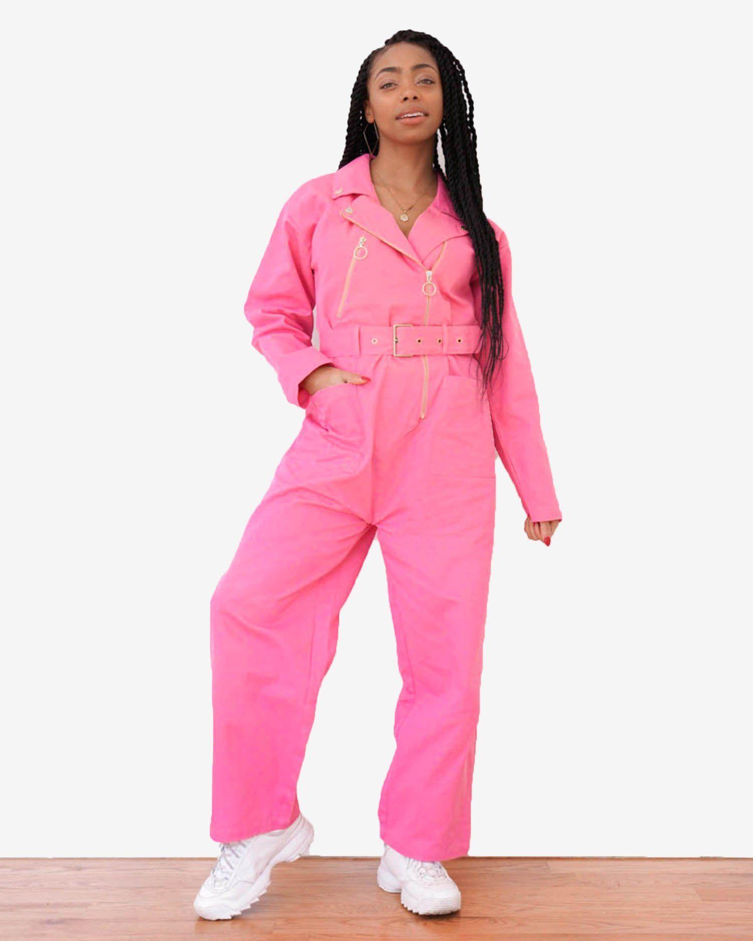 119634e0 Pink Biker Boiler Suit in 2019   Art   Patterns, Textiles, & Fashion ...
