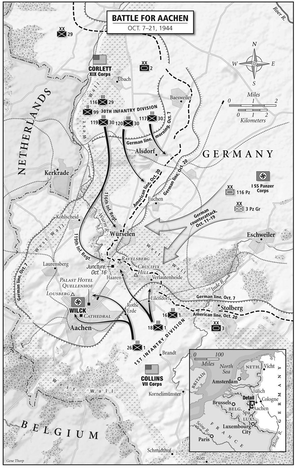 BATTLE FOR AACHEN OCTOBER 721 1944 forgotten battles Pinterest