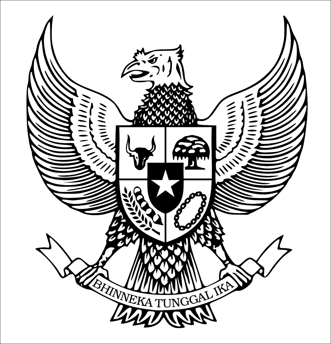 Logo Indonesia dan Dunia LAMBANG BURUNG GARUDA LOGO
