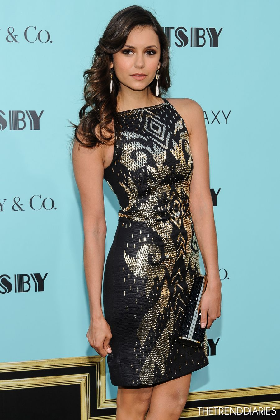 Nina Dobrev at the Premiere of the \'The Great Gatsby\' at Avery ...