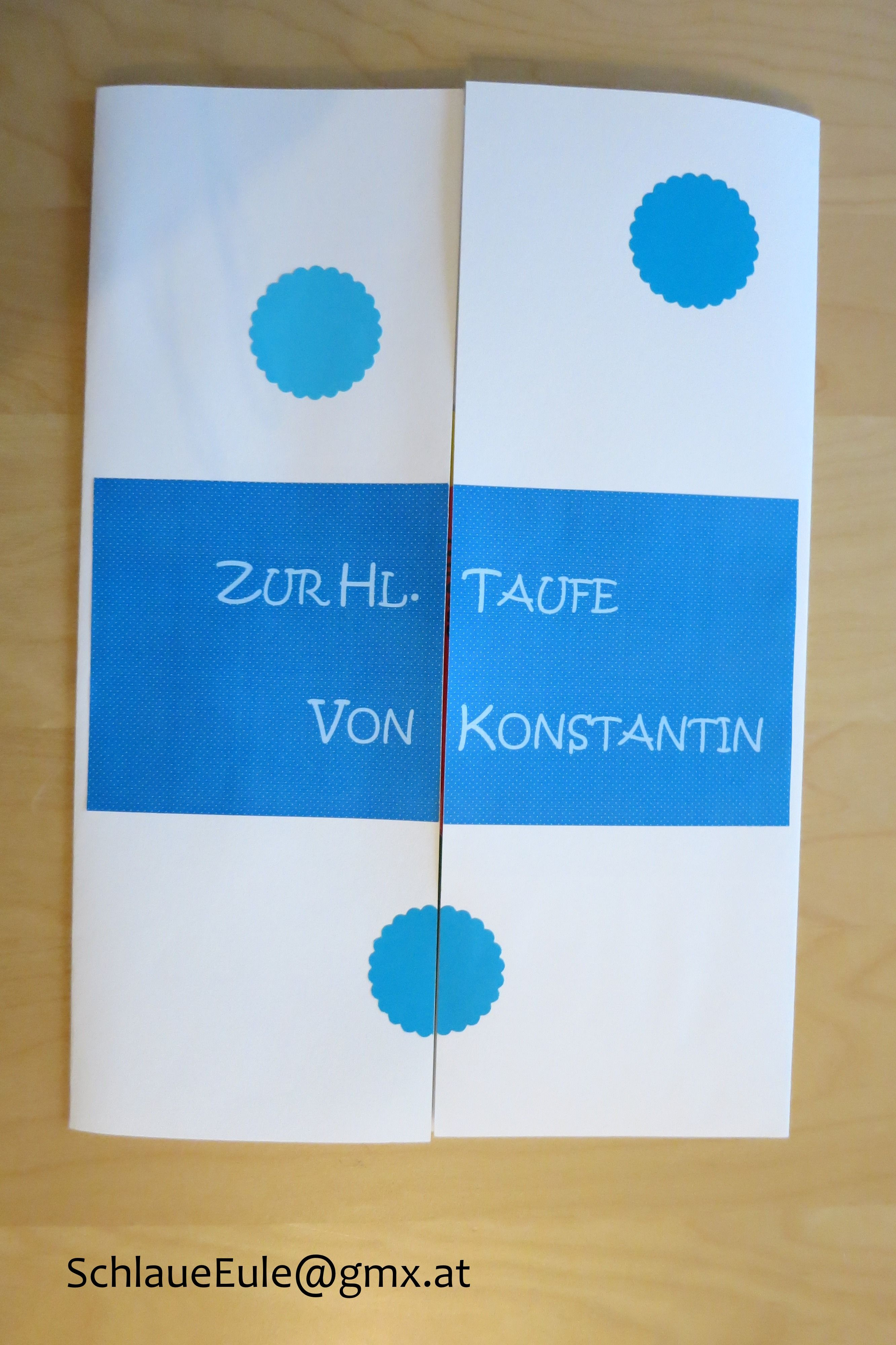 Taufe Lapbook Deckblatt Version 2 | Taufe & Lapbook | Pinterest ...