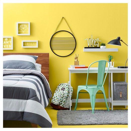 Round Wall Hanging 18 - Black - Room Essentials | Dorm rooms, Dorm ...