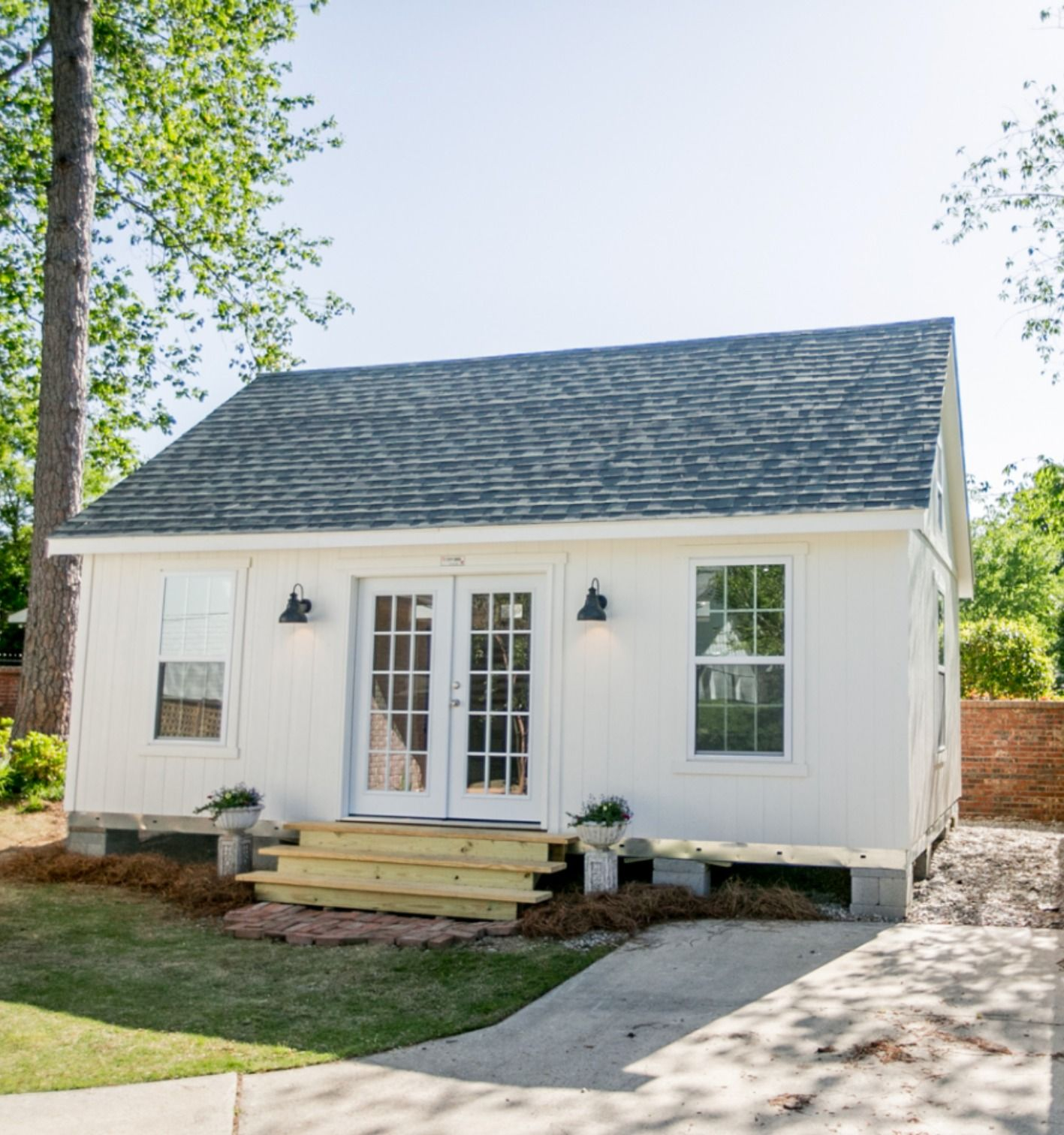 Making A Small Space Work For You Tuff Shed Guest House Shed Backyard Guest Houses Farmhouse Sheds