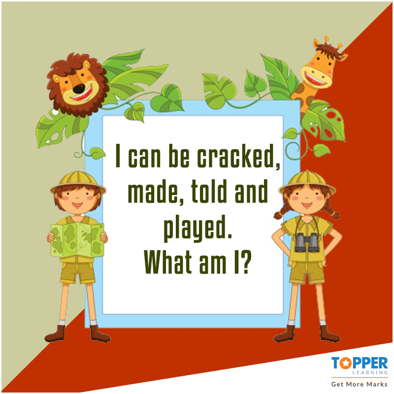 Can you solve this? Riddles BrainTeasers Children