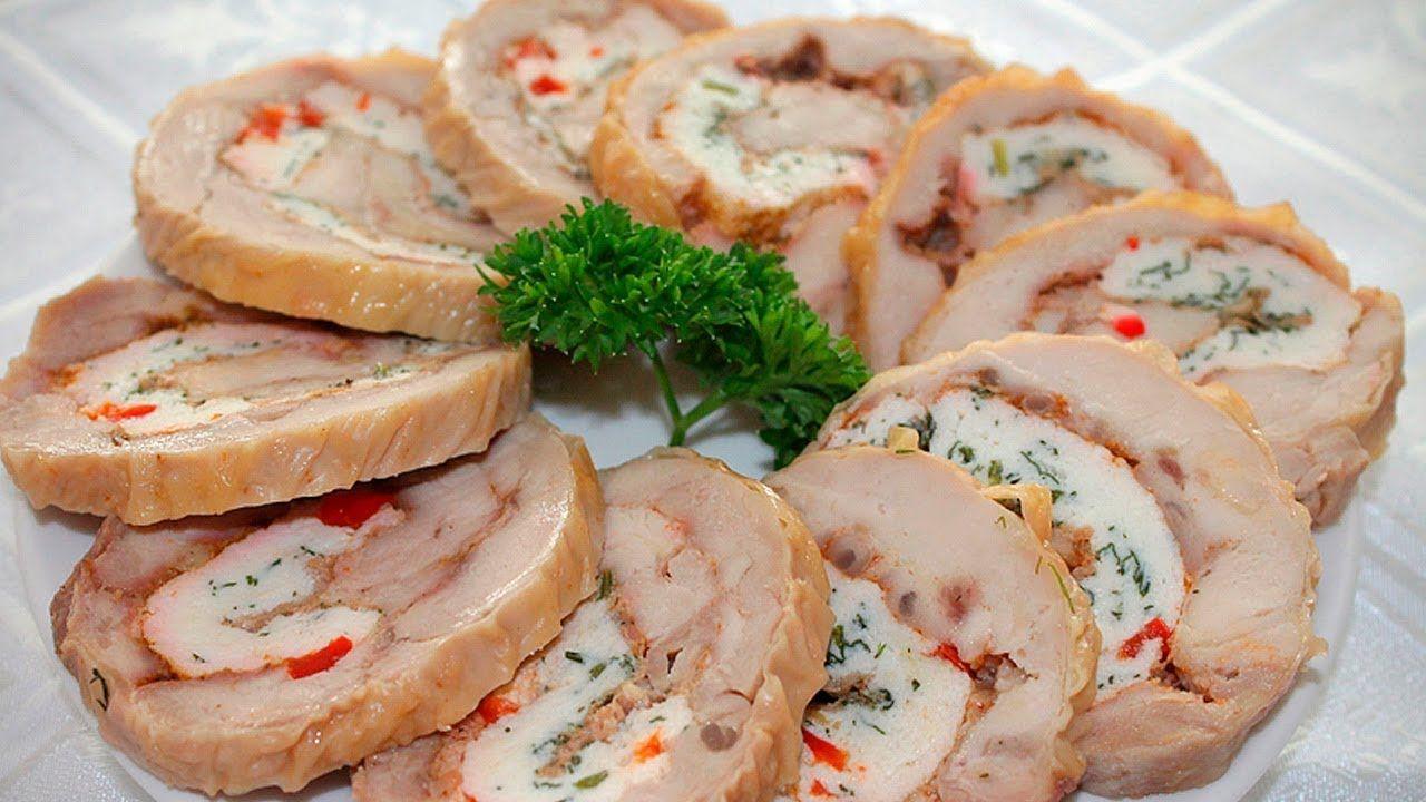 холодные закуски из свинины рецепты с фото так