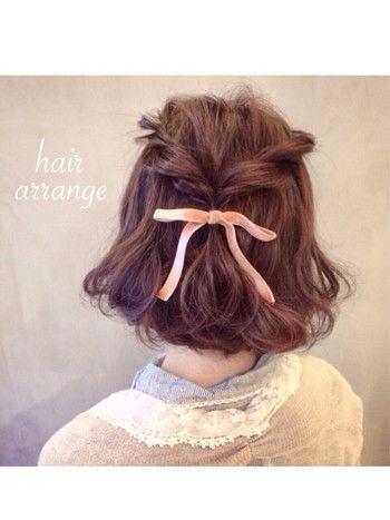 結婚式などのお呼ばれにも◎な髪型♪簡単「ハーフアップ」でほっこりおしゃれにアレンジ♪