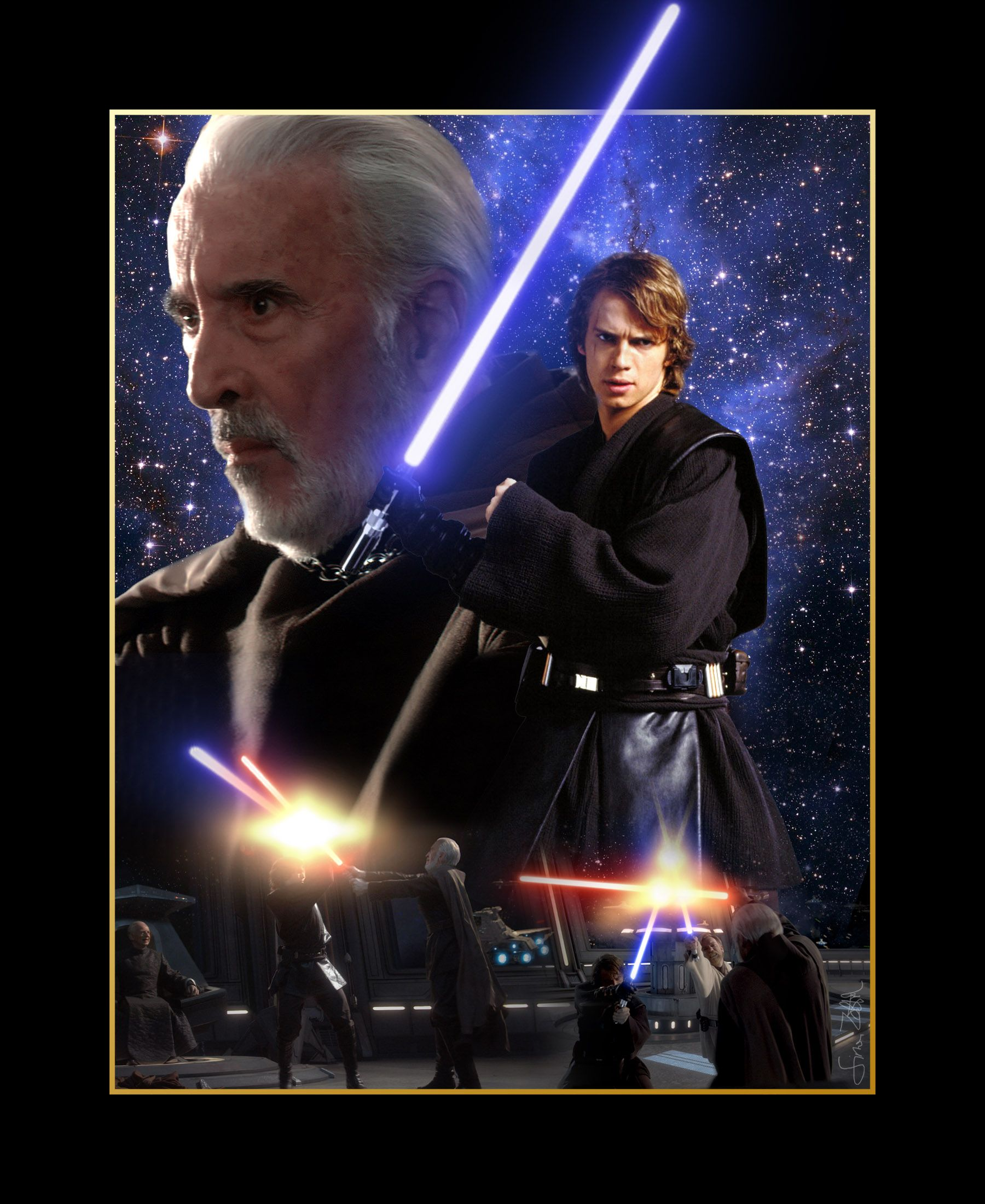 Anakin Vs Obi Wan Clone Wars