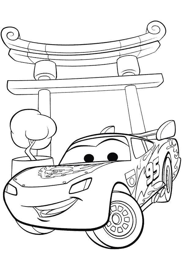 jeux de flash mcqueen coloriage coloriage a imprimer flash mac queen cars 2 gratuit et colorier ...