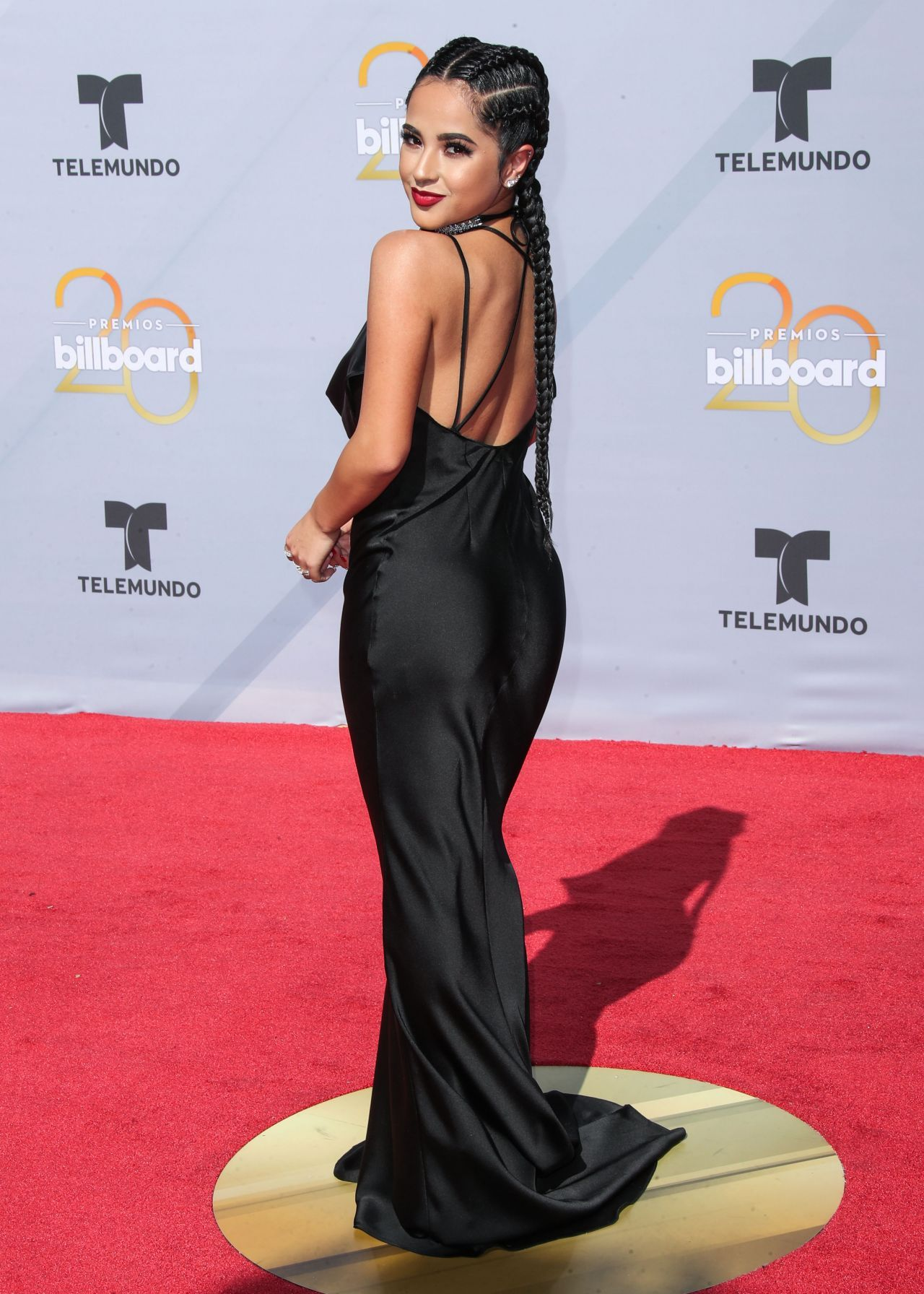 Alfombras Publicitarias Becky G At The 2018 Billboard Latin Music Awards In Las