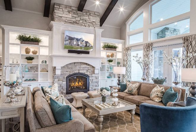 Pin By Shaylee Bartlett On Home Decor Living Room Built Ins