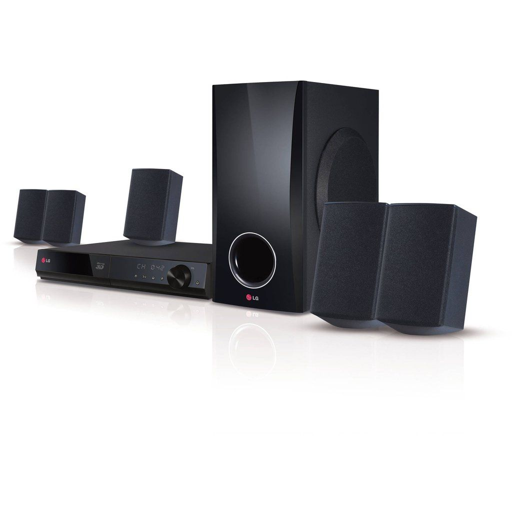 LG Home Theater System 5.1ch 500W 3DCapable Bluray Disc