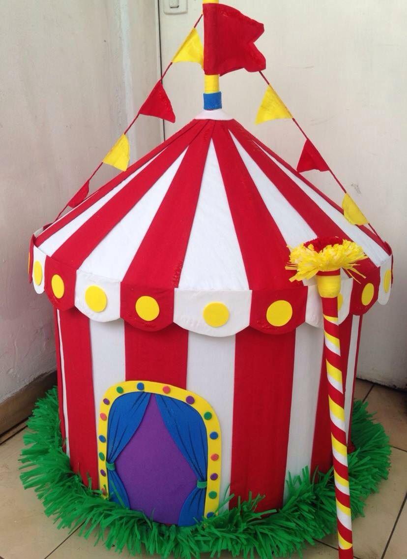 Pi ata circo party inspirations en 2019 circus for Como hacer un criadero de carpas
