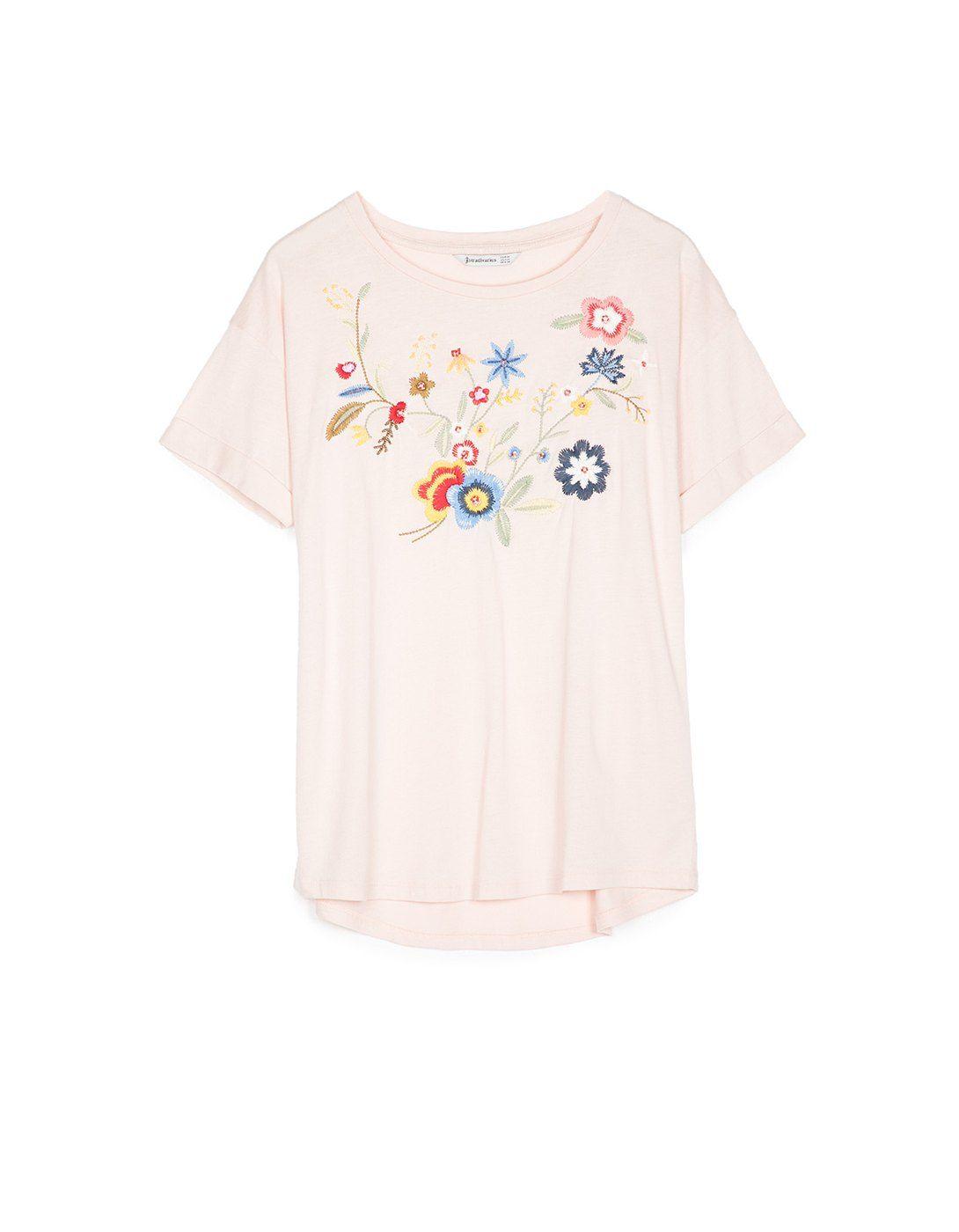 feac669f16dff Camiseta bordados - NUEVO