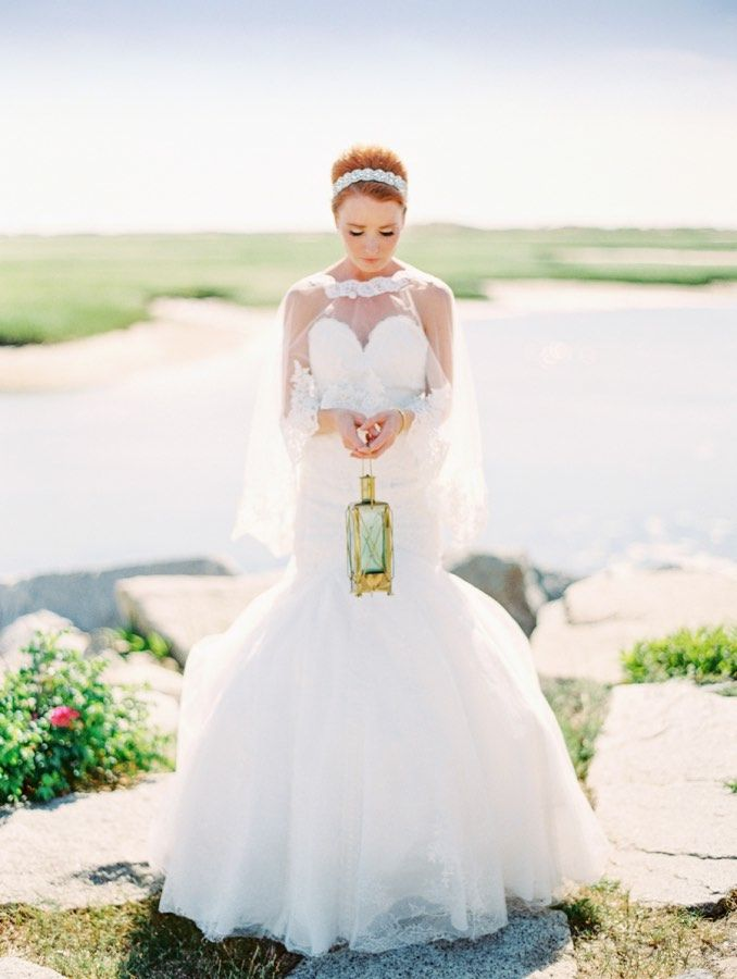 wedding dress idea; featured photographer: Arielle Doneson ...