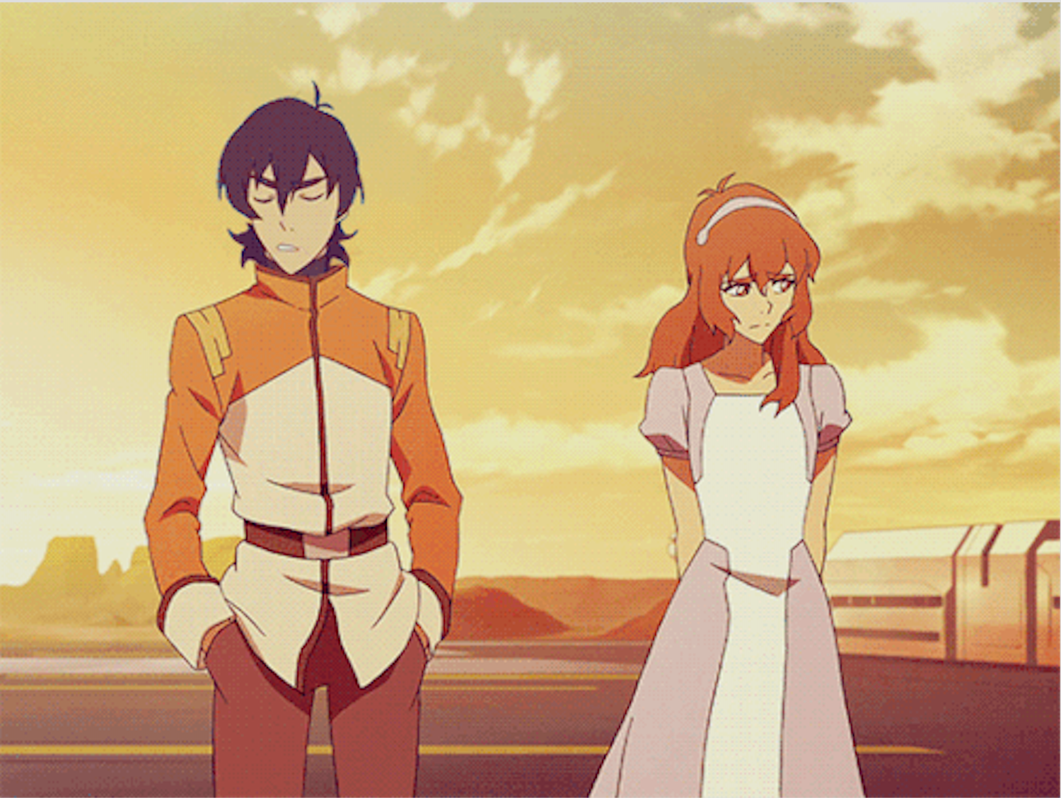 If Keith And Pidge Katie Holt Have Met In Galaxy Garrison Kerberos Mission Launch From Voltron Legendary Defen Voltron Voltron Legendary Defender Voltron Funny