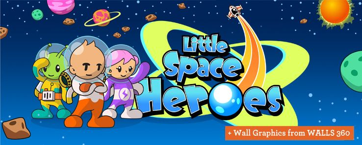 little space heroes. fun virtual worlds for kids under 12. create