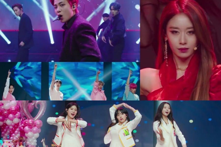"""Update: Drama """"Imitation"""" Unveils Teasers Of Fictional Idols SHAX, LA LIMA, Sparkling, And Tea Party"""