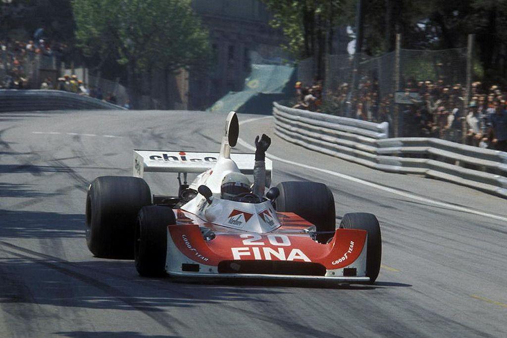 Arturo Merzario Williams Ford Fw04 1975 Spanish Gp