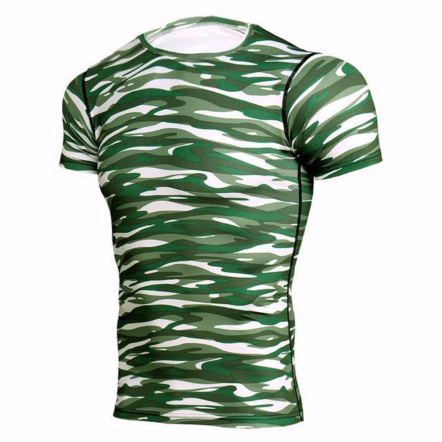 5e51d1770390 Rashgard Mens Sport Running T Shirt Men Camouflage   Products ...