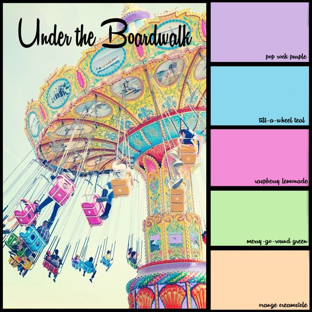under the boardwalk3 bedroom colors