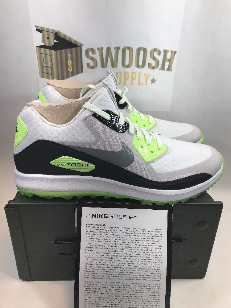 f2c070a25fd4 Nike Air Zoom 90 IT Golf Shoes Mcilroy Day 844648 101 WOMENS Sz 6.5  Nike   GolfShoes